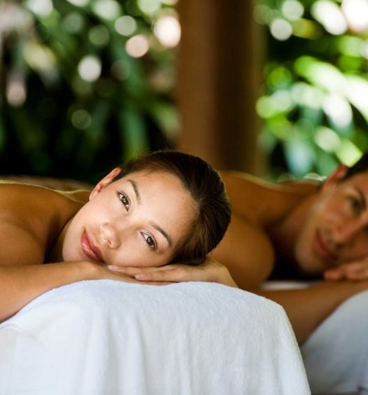 Couples being massaged by Ripple Day Spa