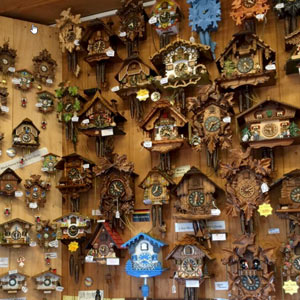 German Cuckoo Clocks Gallery Walk Tamborine Mountain