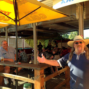 Locals at Fernvale Hotel - Helicopter Pub Crawl
