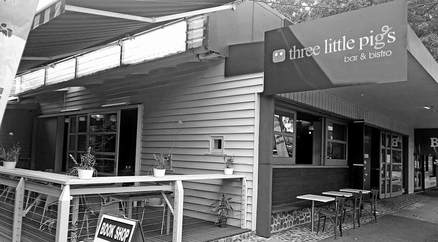 Exterior Three Little Pigs Bar & Bistro