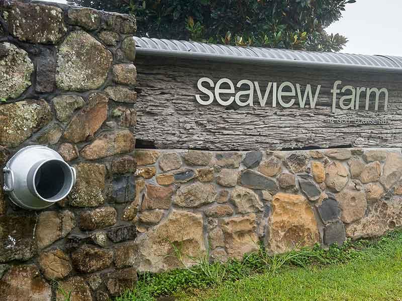 Seaview Farm Retreat Entrance