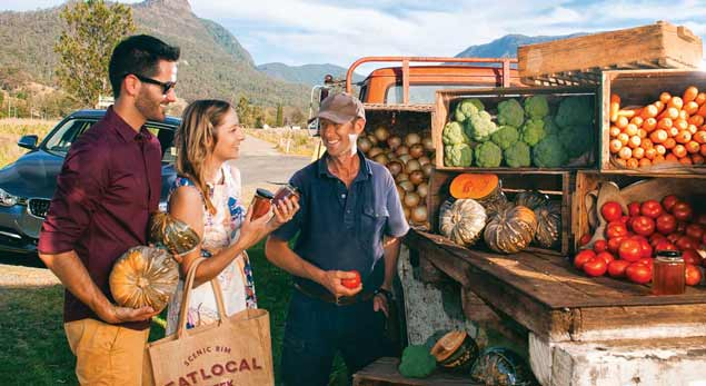 Road Side Local Produce Stalls - Scenic Rim Eat Local Week