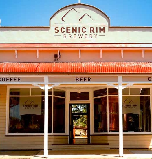 Front of building view Scenic Rim Brewery