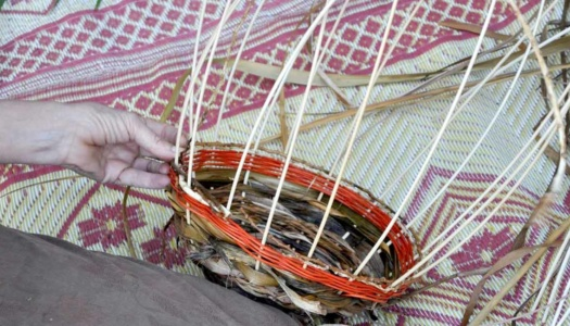 Cindy Wood Basket Weaving