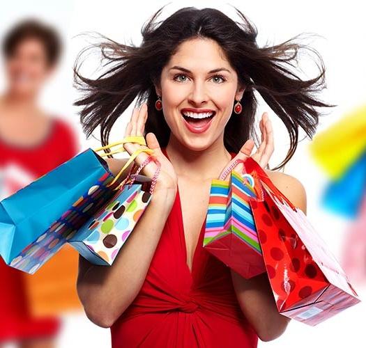 Happy group of ladies Shopping On Tamborine Mountain