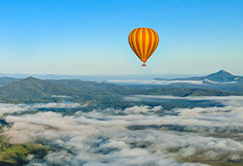 Hot Air Balloon Flight over Scenic Rim